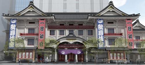 こけら落とし歌舞伎座