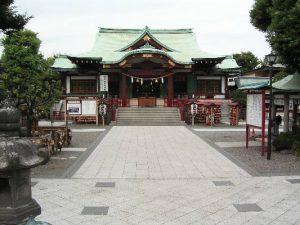 亀戸天神社_拝殿