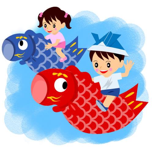なぜ鯉のぼりを飾る?