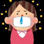 雨の日に花粉症がひどくなる理由