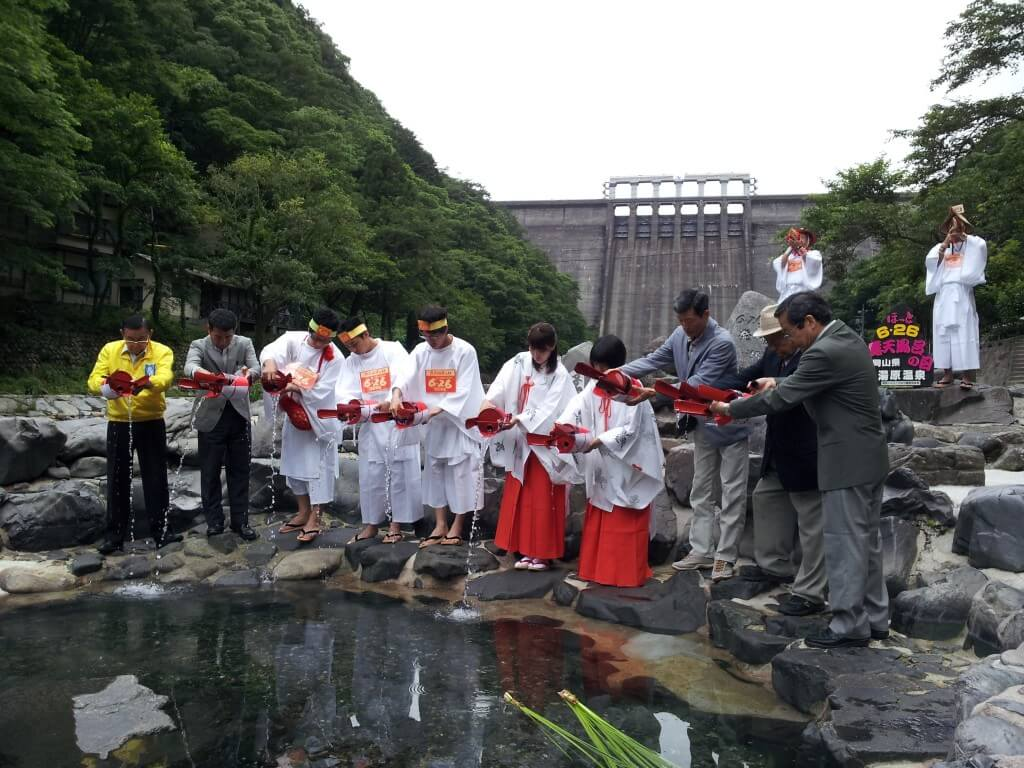 6月25日露天風呂の日のイベント