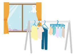 洗濯物を早く乾かす
