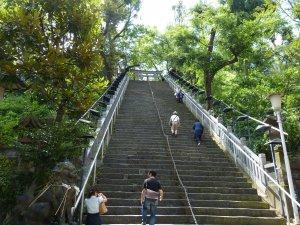 愛宕神社、出世の石段